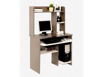 Компьютерный стол Интел-1 Ясень шимо темный-Ясень шимо светлый