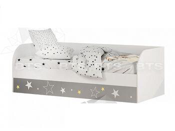 Кровать с подъёмным механизмом Трио Звездное детство КРП-01