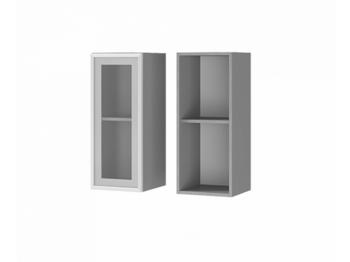 Шкаф 1-дверный со стеклом 3В2 МДФ ШхВхГ 300х720х310 мм