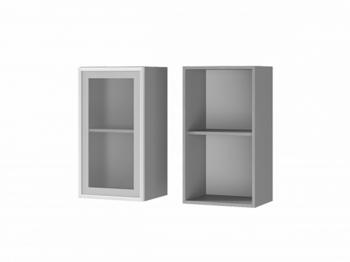 Шкаф 1-дверный со стеклом 4В2 МДФ ШхВхГ 400х720х310 мм