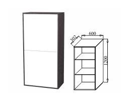 Шкаф навесной 600 К-05 Куб