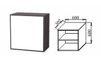 Шкаф навесной 600 К-06 Куб