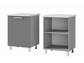 Шкаф-стол 1-дверный 6Р1 МДФ ШхВхГ 600х820х600 мм