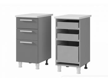 Шкаф-стол с 3 ящиками 4Р3 МДФ ШхВхГ 400х820х600 мм
