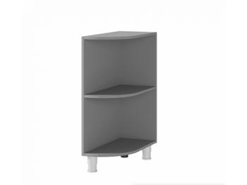 Шкаф-стол угловой открытый 3УР МДФ ШхВхГ 300х820х600 мм