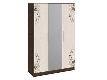Шкаф комбинированный Мишель Венге Цаво-Дуб Белфорт с рисунком