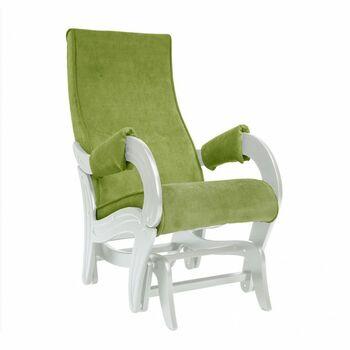 Кресло-глайдер модель 708 Verona Apple green дуб шампань